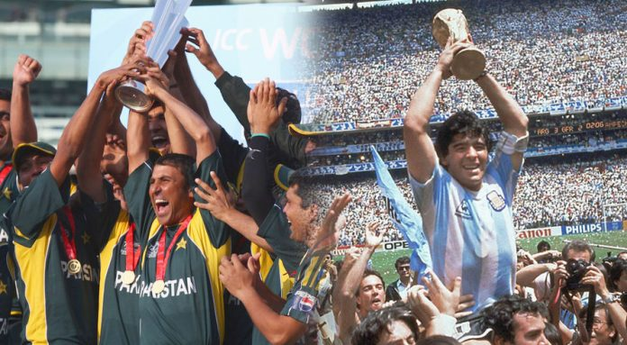 'Maradona will always be my idol,' says Younis Khan