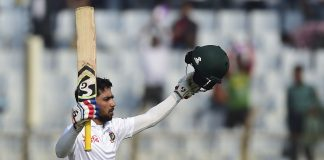 Mominul guides Bangladesh to draw with record ton