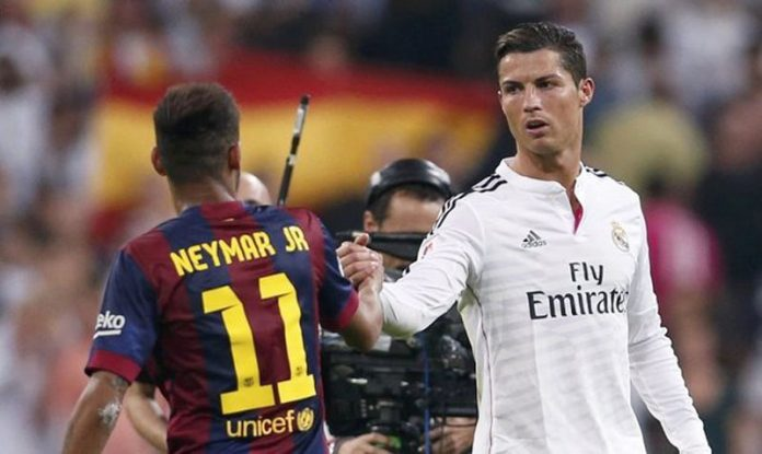 The master Ronaldo against the pretender Neymar