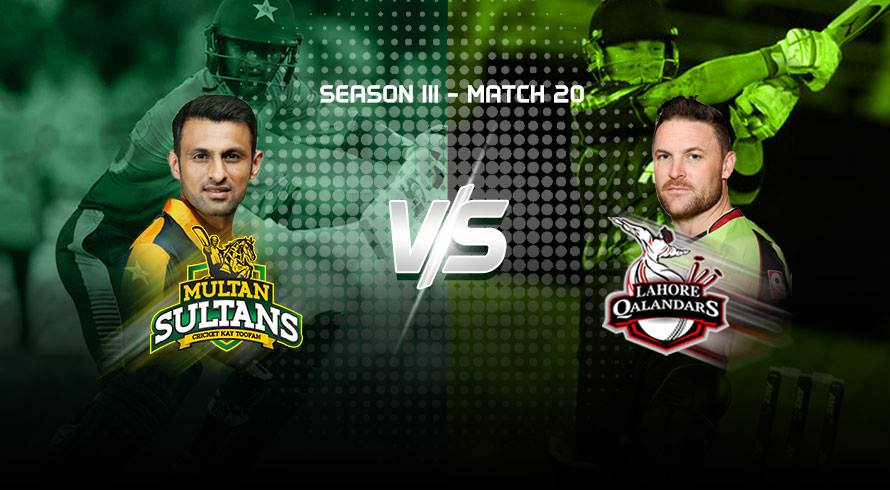 LIVE: Multan Sultans won the toss and elected to bat first
