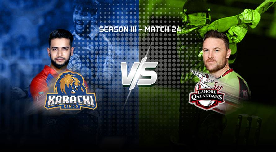 LIVE: Karachi Kings eye playoffs, Qalandars target consolation win