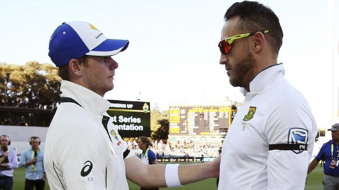 Steve Smith Faf Du Plessis South Africa Australia