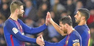 Barcelona begin home stretch to Liga title at freefalling Malaga