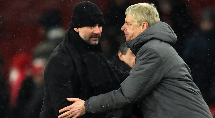 Guardiola voices support for under-fire Wenger