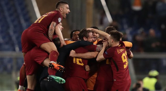 AS Roma Barcelona Champions League