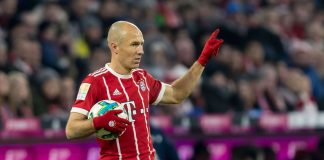 Arjen Robben Bayern Munich Real Madrid