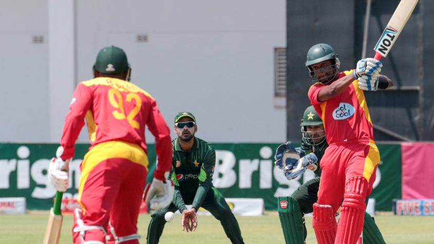 Zimbabwe will be playing without their a few star players in T20I tri series. (Photo - ARY Sports)