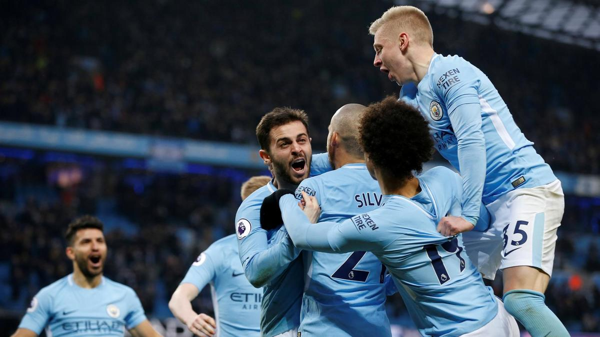 Man City Vs Chelsea 2018: Manchester City Crowned Champions After United Defeat