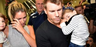 David Warner Candice Warner ball-tampering