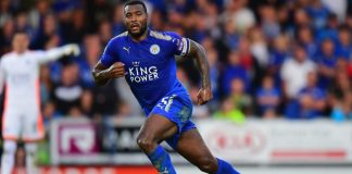 Leicester Arsene Wenger Wes Morgan Arsenal