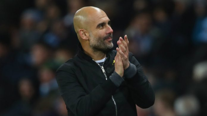 Pep guardiola Manchester City LMA Manager of the year