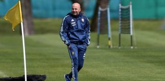 Jorge Sampaoli Argentina Lionel Messi World Cup