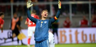 Manuel Neuer Germany Austria World Cup