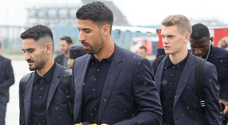 Defending champions Germany arrive in Russia for World Cup ...