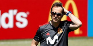 Spain sack coach on the eve of World Cup