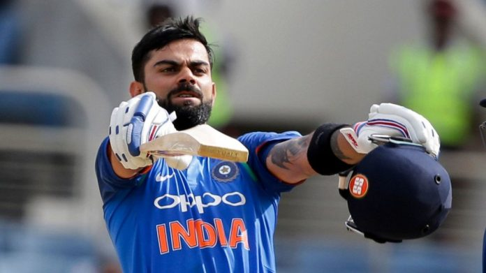 Kohli named Indian cricketer of the year