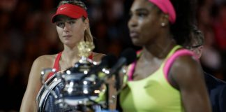 Maria Sharapova Serena Williams French Open