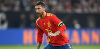 Sergio Ramos Spain World Cup Real Madrid