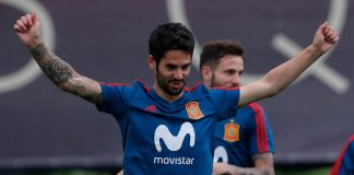 Isco Spain Morocco World Cup