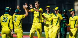 Billy Stanlake Aaron Finch Australia Pakistan