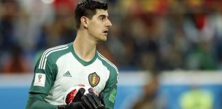 Thibaut Courtois Belgium France World Cup