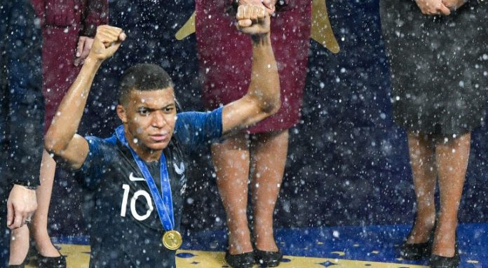 Kylian Mbappe France World Cup