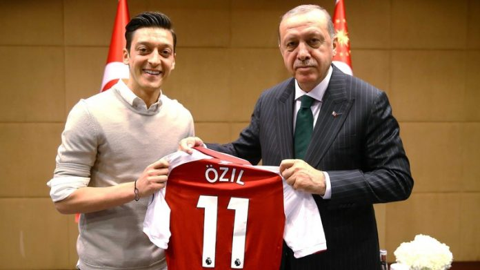Erdogan says called Ozil, praises decision to quit German team