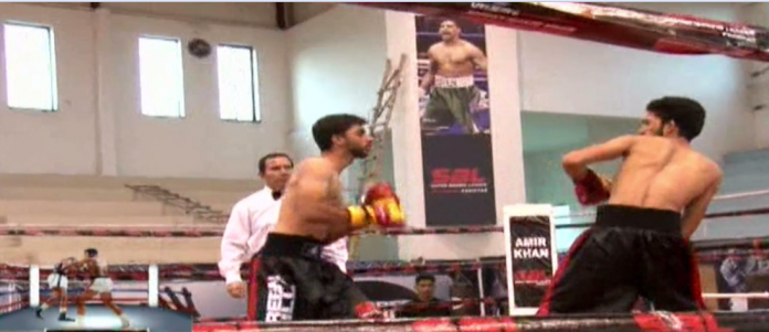 Islamabad's boxers showcased their skills in SBL trials