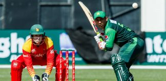 Pakistan beat Zimbabwe to advance to the tri-series final