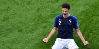 Benjiman Pavard France World Cup Goal of the tournament