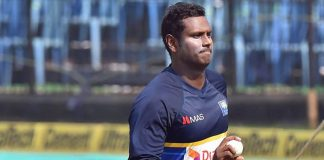 Angelo Mathews Sri Lanka South Africa
