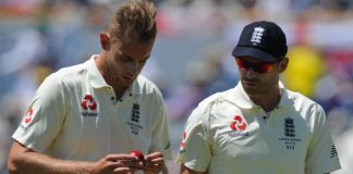 James Anderson Stuart Broad England India