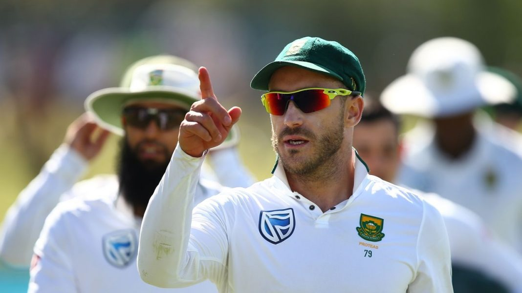 Faf Du Plessis South Africa ball-tampering