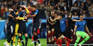 France and Croatia seek World Cup glory