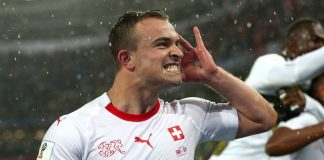 Swiss turn to Shaqiri to prove his worth on the world stage