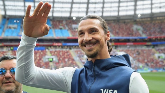 Zlatan Ibrahimovic Sweden World Cup England