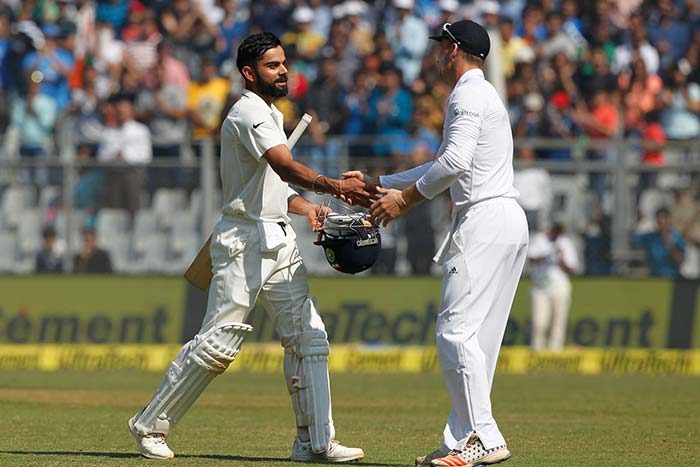 England 139-6 against India in fourth Test