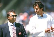 Imran Khan Sunil Gavaskar India Pakistan