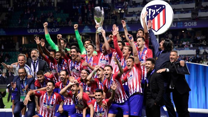 Atletico Madrid Real Madrid Super Cup