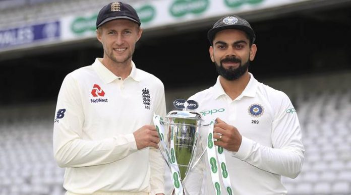 England bat first in the opening Test of the series against India
