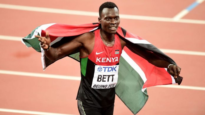 Kenya's 400m hurdles champ Nicholas Bett killed in car crash