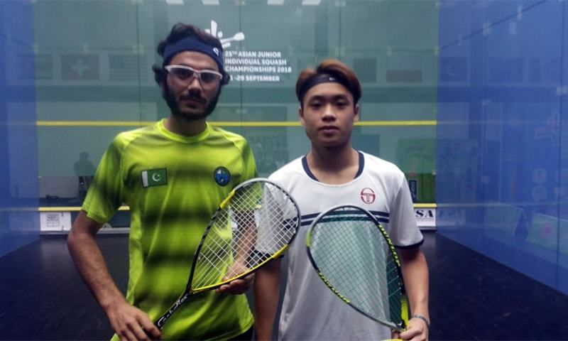 Pakistan bag three Gold, one Silver medal in Asian Junior Squash Championship