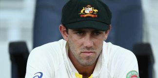 Australia's Maxwell in test whites when he learned of omission