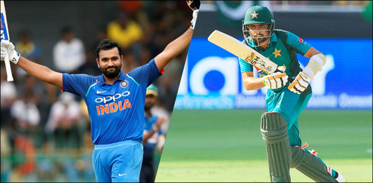 Babar dropped down, Rohit Sharma up to No.2 in rankings for ODI batsmen