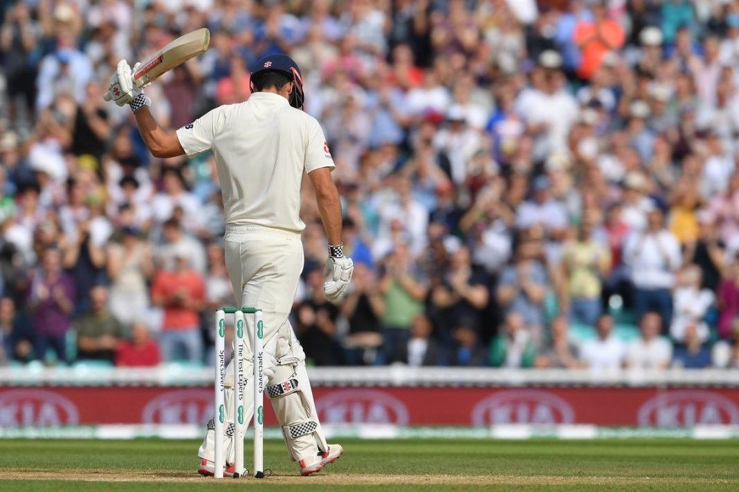 Alastair Cook England India