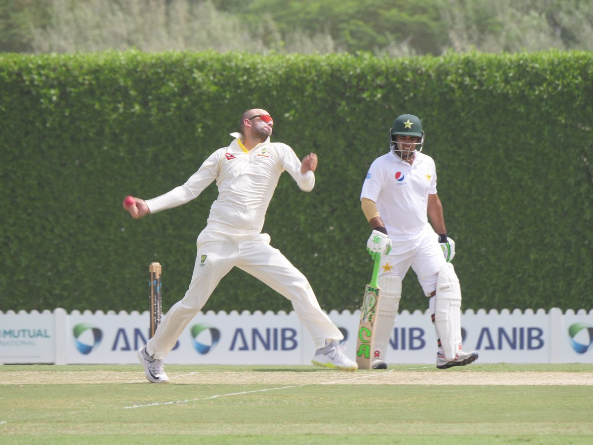 Abid Ali shines for Pakistan A, while Lyon takes five-for