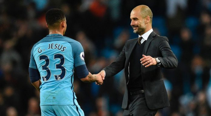 Jesus is not struggling, says Guardiola