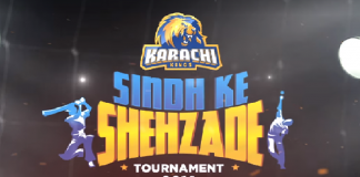 Karachi Kings' Sindh ke Shehzade tournament to kick off from today
