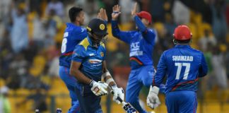 Angelo Mathews Sri Lanka Asia Cup Afghanistan