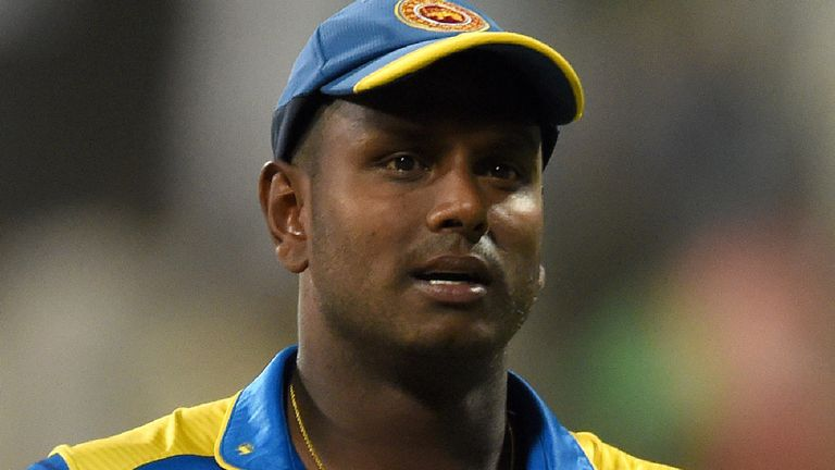 I'm a 'scapegoat' says sacked Sri Lanka captain Mathews